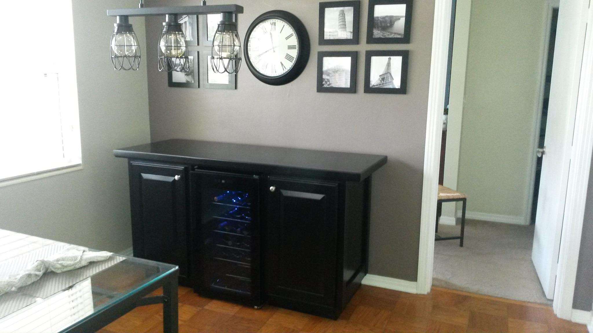 South Tampa Wine Cabinet