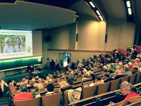 Conférence à l'Université des Aînés, Louvain-la-Neuve