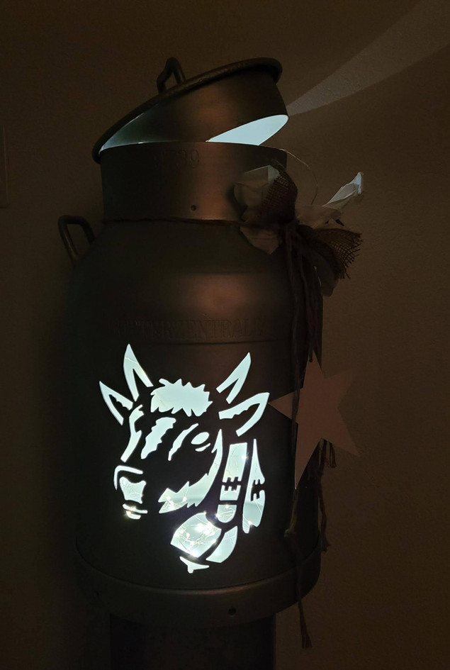 Milchkanne, Kunst