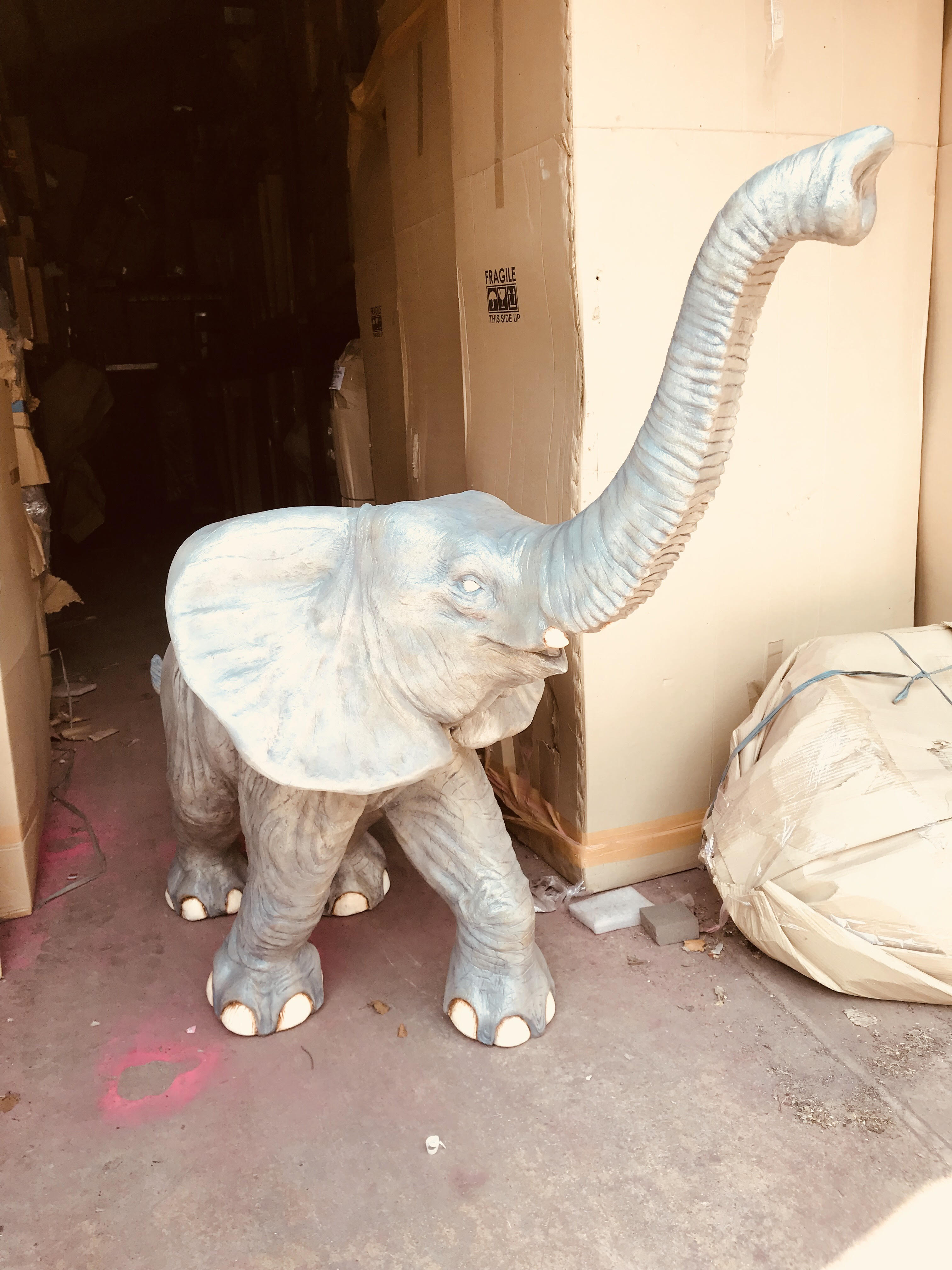 Before - Natural Paint Elephant