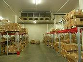 Холодильный склад хранения кобасных изделий