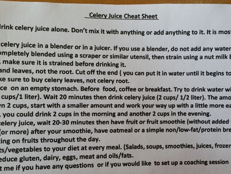 How Celery Juice Saved Us
