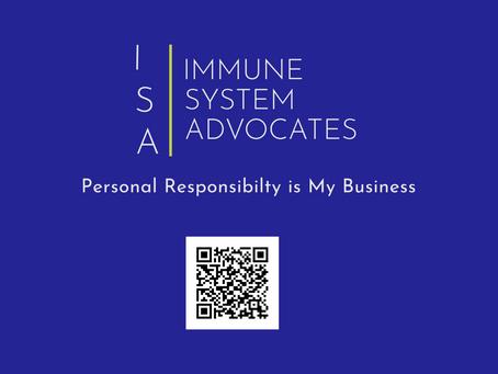 ISA ( Immune System Advocates) Card