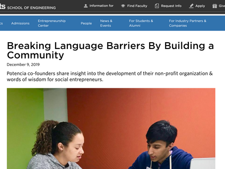 Tufts Gordon Institute Interview: Breaking Language Barriers By Building a Community