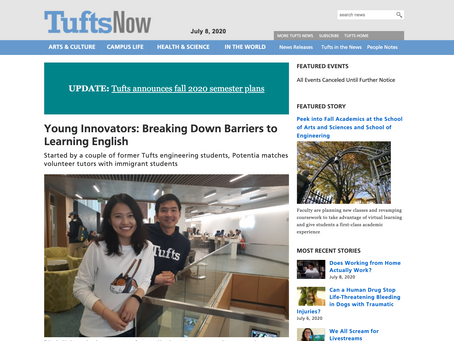 TuftsNow article on Potencia