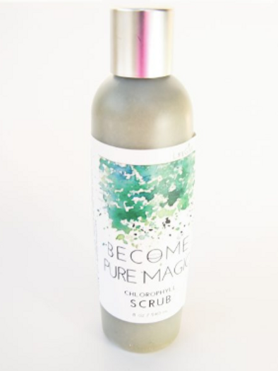 BECOME Pure Magic - Chlorophyll Scrub - 8oz
