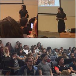 הרצאה על רושם ראשוני, תדמית וראיון עבודה  במכללה האקדמית תל אביב יפו