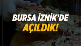 Pizza Tomato Bursa İznik'de Açıldı!