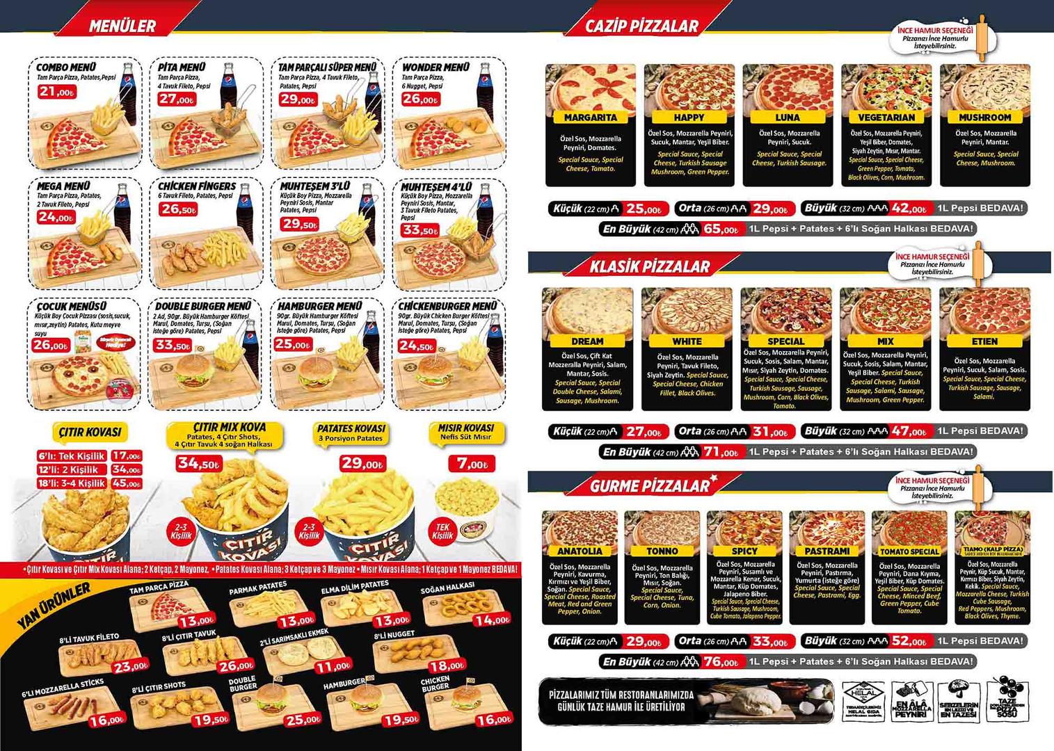 pizza-tomato-koycegiz-menu