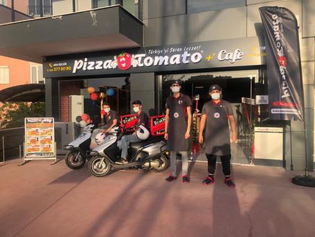 Pizza Tomato Denizli Merkezefendi 2 Şubemiz Açıldı!