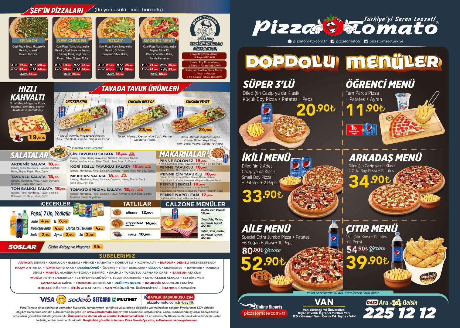 Pizza Tomato Van menu on sayfa.jpg