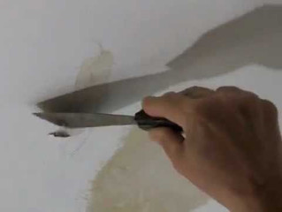 Repairing Cracks in a Ceiling