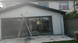covering before painting ouside rathfarnham  (11)