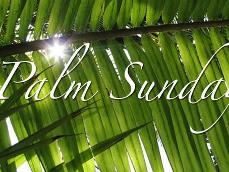 Palm Sunday: 5th April