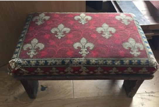 Kneeler Stool Embroidered Top (From St Mary's)