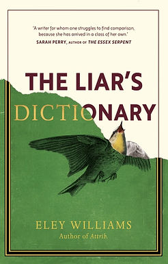 'The Liar's Dictionary' by Eley Williams - signed