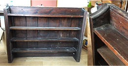 Stained Pine Bookcase (From St Mary's)
