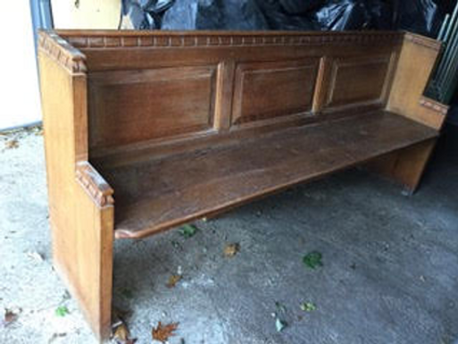 Oak Pew (From St Mary's)