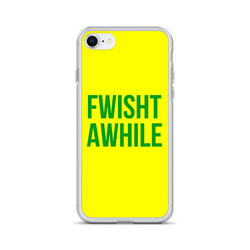 Fwisht iPhone Case