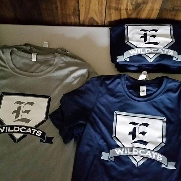 Baseball shirts printed for y10U baseball by Frog Printz Screen Printing Enterprise, AL