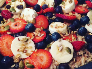 Steel Cut Oats Breakfast Bake