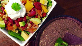 Veggie Taco Salad Tuesdays