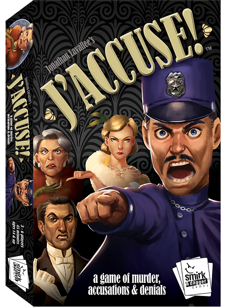 J Accuse -  Smirk and Dagger Games