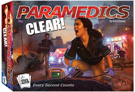 Paramedics CLEAR -  Smirk and Dagger Games