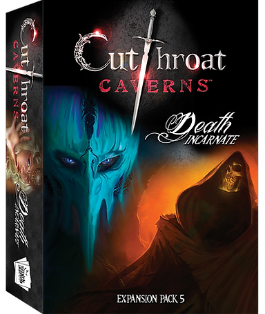 Death Incarnate Expansion 5: Cutthroat Caverns -  Smirk and Dagger Games
