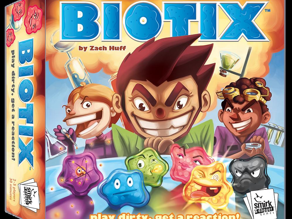 BIOTIX | smirkandlaughter