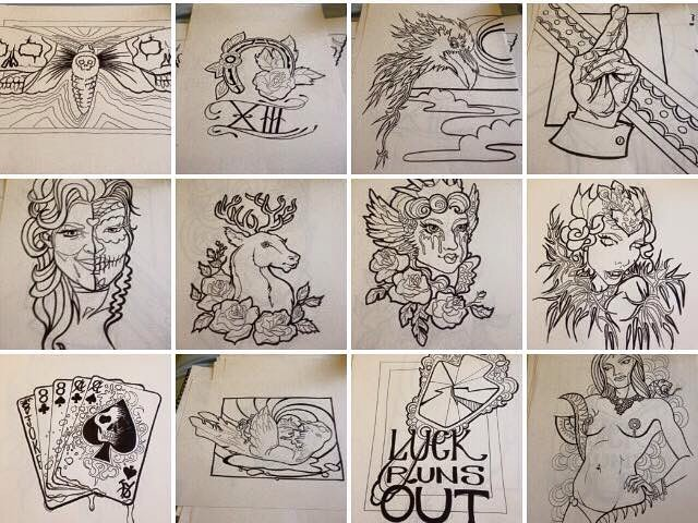 #LHDart #art #fridaythe13th #exhibition #coloringinbook #colouringinbook #burlesque #ink #inkdrawing
