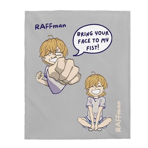 RAFFman Velveteen Plush Blanket