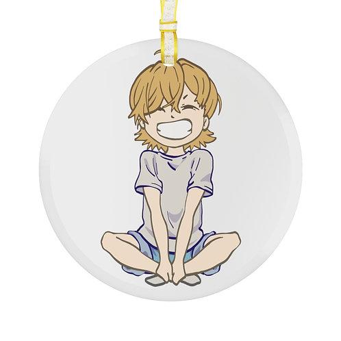 RAFFman Glass Ornament