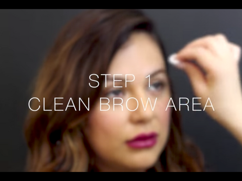 Eyebrow Shaping and Scultpting