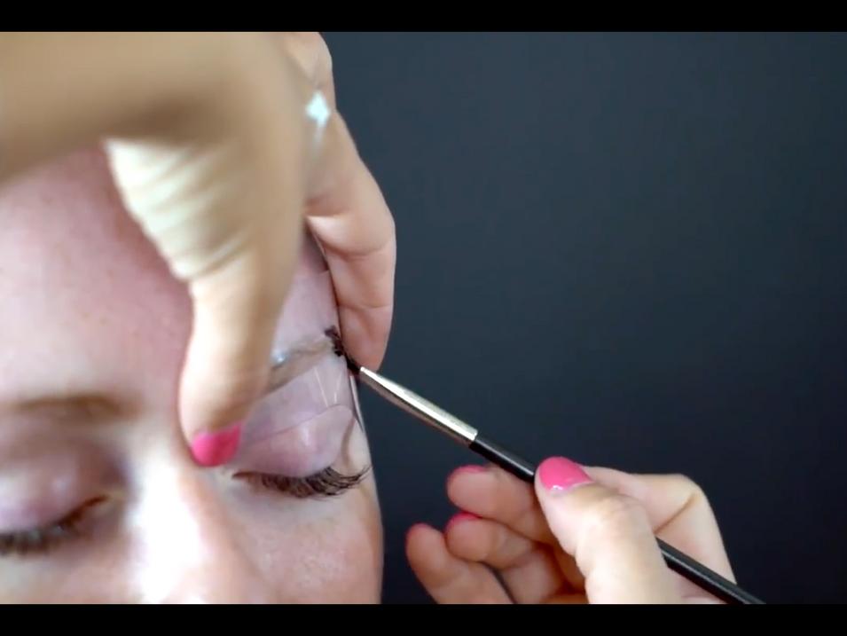 Eyebrow Tinting Video