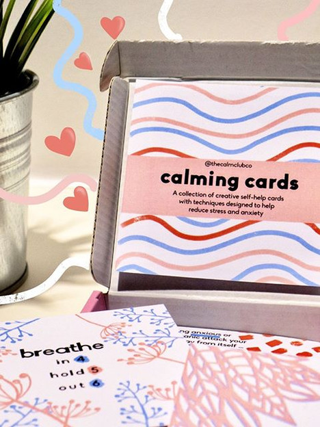 The Original Calming Cards