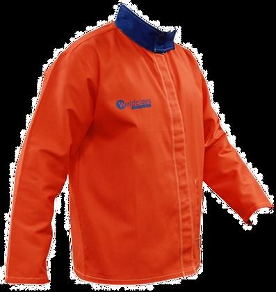 Weldclass Flame Resistant Cotton Orange Hi-Viz Jacket