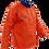 Thumbnail: Weldclass Flame Resistant Cotton Orange Hi-Viz Jacket