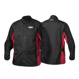 Shadow Split Leather Sleeved Welding Jacket