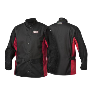 Lincoln ShadowSplit Leather Sleeved Welding Jacket