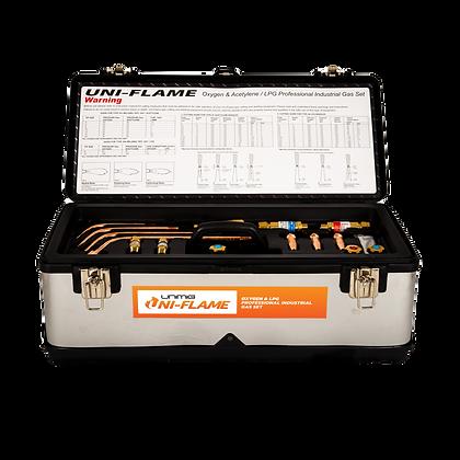 UNIMIG Oxygen & LPG / Propane Professional Industrial Gas Set