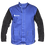 Thumbnail: Weldclass Jacket Flame Resistant Cotton Body w/ Leather Sleeves