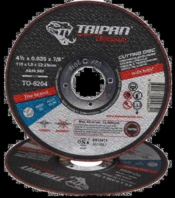 """Taipan Inox Cutting Disc 115mm (4.5"""") x 1.0mm"""