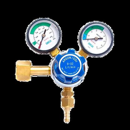 CO2 - 2 Gauge - 32 L/Min - Side32 - L/Min