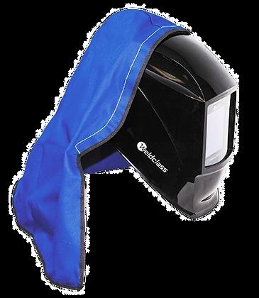 Weldclass FR Blue Helmet Hood