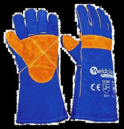 Promax Blue Kevlar Stitched Welding Gloves