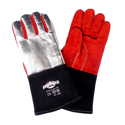 ARCOSAFE Aluminised Heat Resistant Welding Gloves