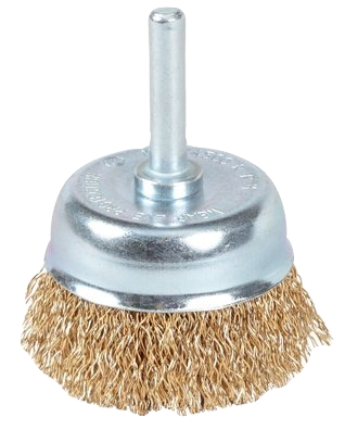 Taipan Spindle Mount Cup Brush 50mm