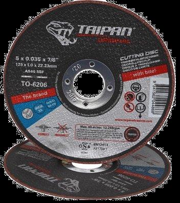 """Taipan Inox Cutting Disc 125mm (5"""") x 1.0mm"""