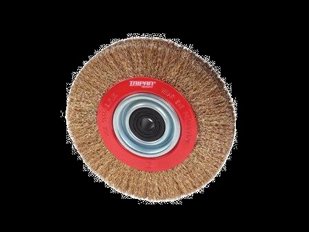 "Taipan Pedestal Wheel Brush 150mm (6"") x 25mm"